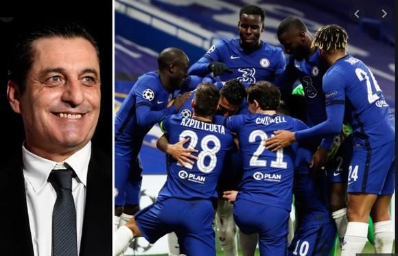 Huyền thoại Paulo Futre nởi giện khi biết Chelsea ăn mừng kết quả bốc thăm