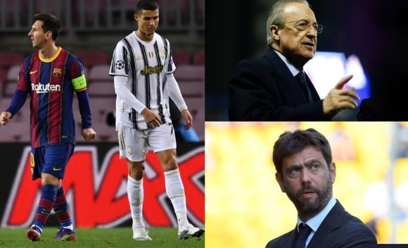 Juventus, Barcelona cùng tham gia Super League