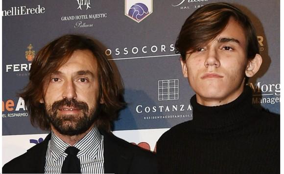 Abdrea Pirlo và con trai