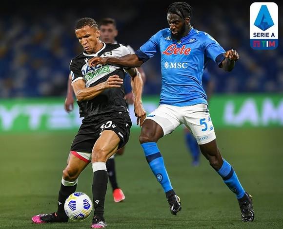 Napoli đè bẹp Udinese 5-12