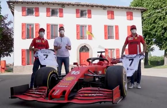 Ronaldo bỏ tập để tham gia sự kiện và mua xe Ferrari ảnh 1