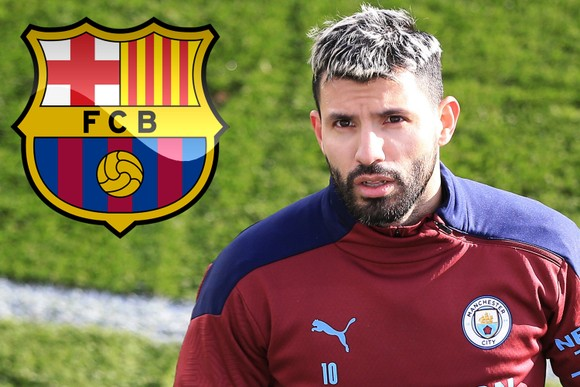 Sergio Aguero đã đồng ý gia nhập Barcelona