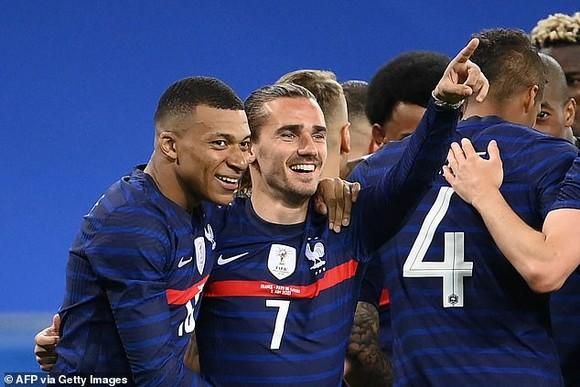 Đội hình tuyển Pháp rất mạnh