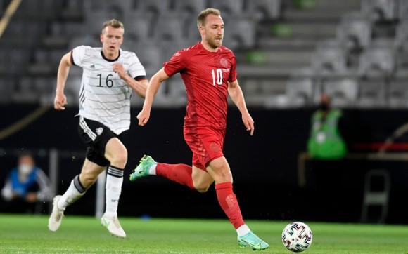 Christian Eriksen sẽ dẫn dắt Đan Mạch đến chiến thắng