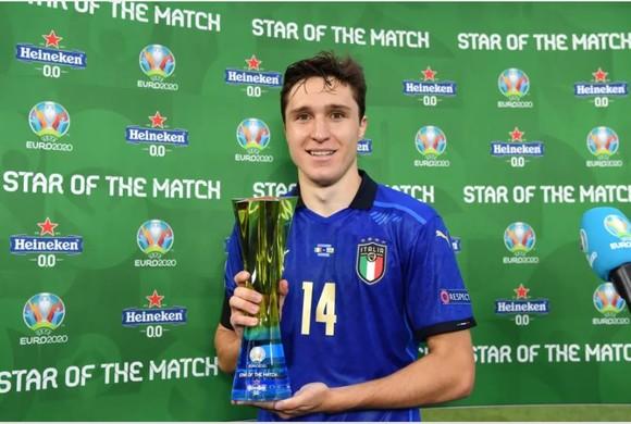 Italia – Xứ Wales 1-0: Verratti và Chiesa tỏa sáng ảnh 2