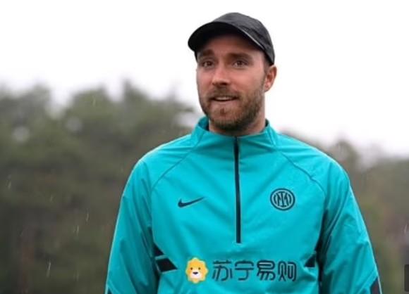 Eriksen trở lại Inter Milan