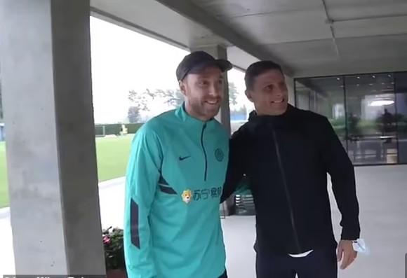 Eriksen trở lại Inter với 'thể trạng và tinh thần tuyệt vời' ảnh 1