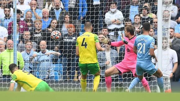 Manchester City – Norwich 5-0: Grealish mở tài khoản, Gabriel Jesus tỏa sáng với 2 kiến tạo ảnh 1