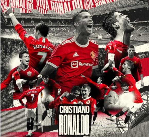 Cristiano Ronaldo sẽ mặc áo số 7 ở Man.United ảnh 1