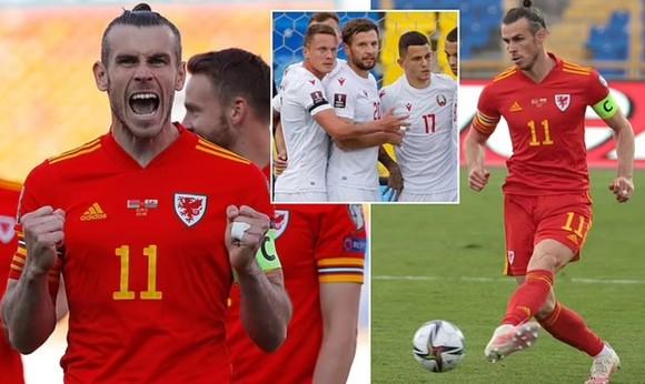Gareth Bale ghi hat-trick giúp Xứ Wales thắng ngược Belarus ảnh 1