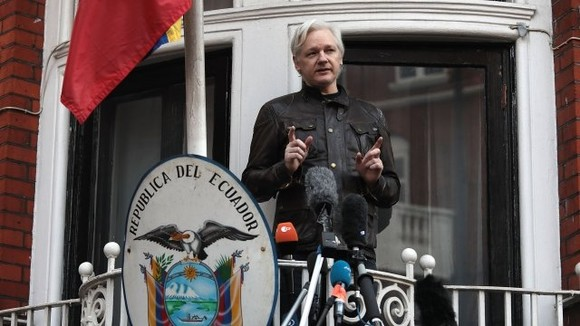 Julian Assange. Ảnh: News 24 hours