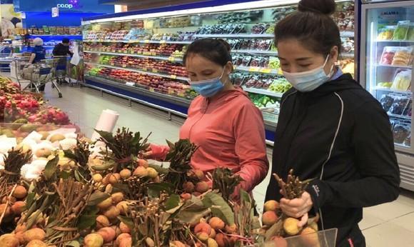 Trái vải chính gốc Hải Dương và Bắc Giang đã có mặt tại hệ thống siêu thị Co.opmart ảnh 1
