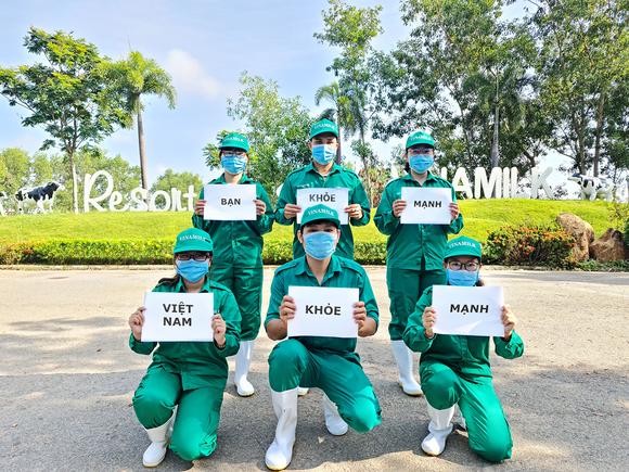 """Vinamilk khởi động chiến dịch """"Bạn khỏe mạnh, Việt Nam khỏe mạnh"""" ảnh 1"""