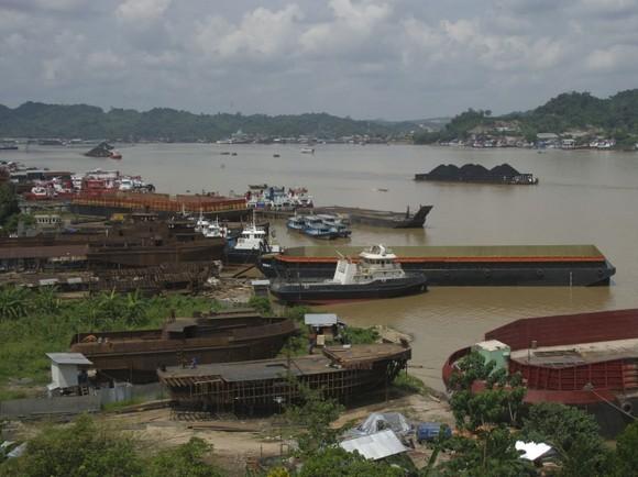 Quang cảnh vùng Samarinda, Đông Kalimantan, Indonesia. Ảnh: AFP/TTXVN
