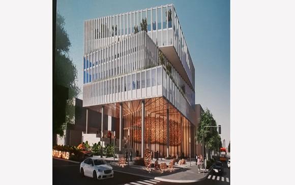 Phối cảnh Trung tâm sáng tạo khởi nghiệp Thành phố.