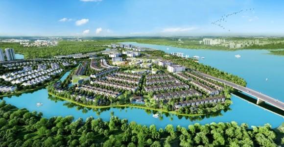 Đô thị sinh thái thông minh Aqua City.