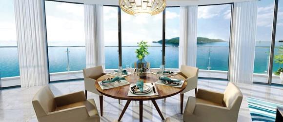 Ấn tượng căn hộ biển ngắm toàn cảnh vịnh Nha Trang