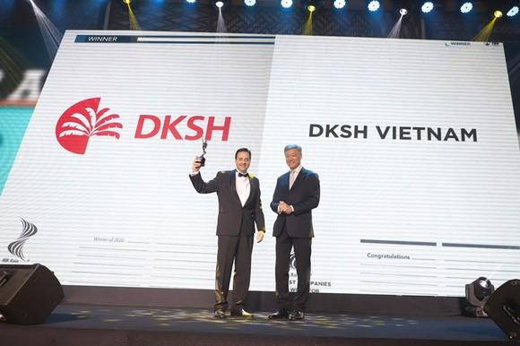 DKSH Việt Nam nhận giải nơi làm việc tốt nhất Châu Á 2020