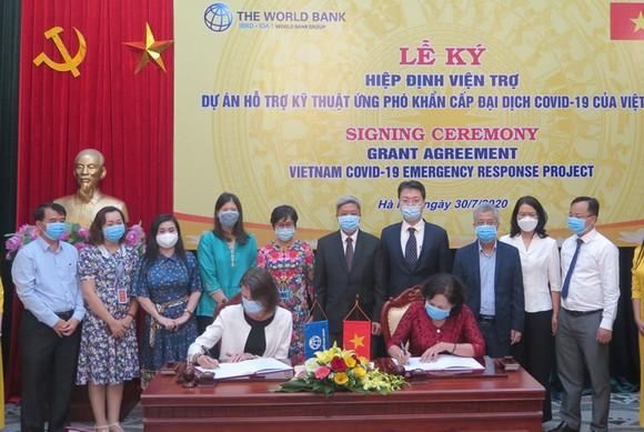 WB tài trợ không hoàn lại 6,2 triệu USD cho Việt Nam chống Covid-19