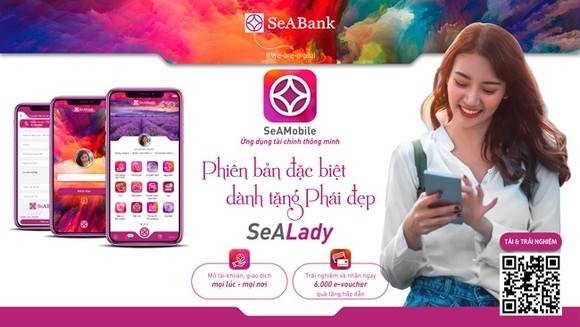 SeABank ra mắt ứng dụng ngân hàng số dành riêng cho phái đẹp SeALady