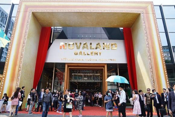 Novaland Gallery tại 179 Hai Bà Trưng, phường 6, quận 3, đã chính thức khai trương từ 19-11