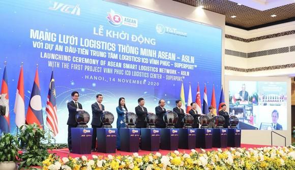 Mạng lưới Logistics thông minh ASEAN với dự án đầu tiên Trung tâm Logistics ICD Vĩnh Phúc đã chính thức được khởi động ngày 14/11 vừa qua.