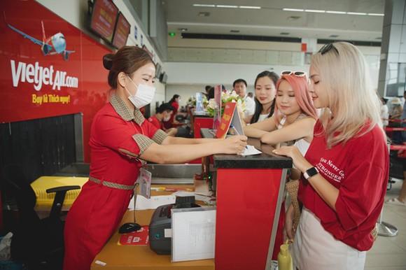 Vietjet tung ưu đãi giá vé 555.000 đồng mọi chặng bay nội địa