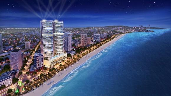 Khách sạn 5 Sao Quốc Tế Beau Rivage Nha Trang tọa lạc tại vị trí chính giữa cung đường biển sầm uất nhất Việt Nam