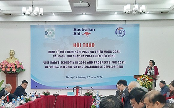 CIEM: 2021 GDP Việt Nam sẽ tăng 6,46%