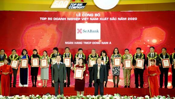 SeABank top 50 doanh nghiệp tư nhân lớn nhất Việt Nam 2020