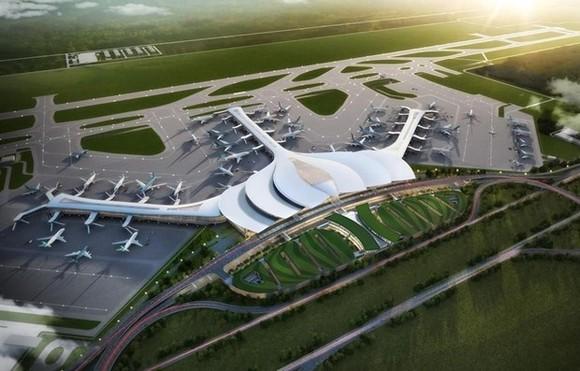 Phối cảnh Cảng hàng không quốc tế Long Thành. (Ảnh: ACV cung cấp)