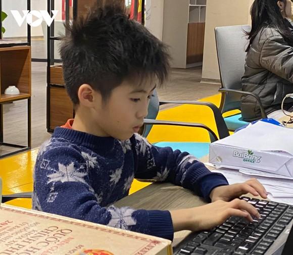 Việc học online sau Tết vẫn gặp những gián đoạn nhất định. (Ảnh minh họa)