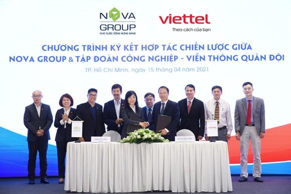 NovaGroup và Viettel ký kết hợp tác chiến lược trong nhiều lĩnh vực; phối hợp xây dựng, triển khai các gói dịch vụ chung cho khách hàng của mỗi bên để tối ưu hiệu quả.
