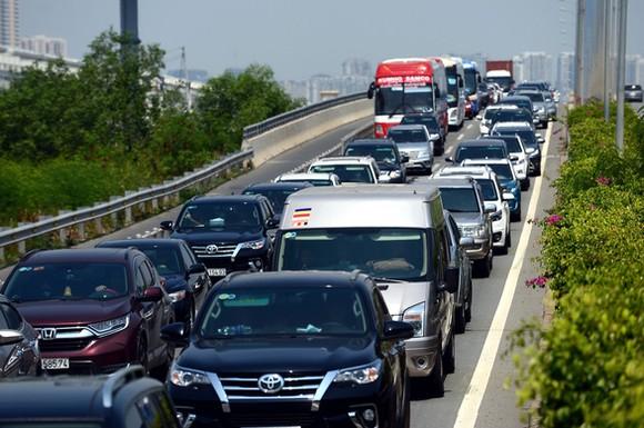 Nút giao An Phú sẽ giúp xe cộ lưu thông vào đường cao tốc TP.HCM - Long Thành - Dầu Giây nhanh hơn - Ảnh: QUANG ĐỊNH