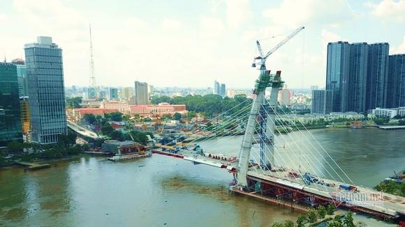 Cầu Thủ Thiêm 2 hoàn thành trước quý 2-2022