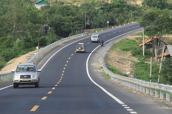 Cao tốc TP HCM - Bình Phước sẽ kết nối với quốc lộ 14 (đường Hồ Chí Minh) hiện nay. Ảnh: Anh Duy