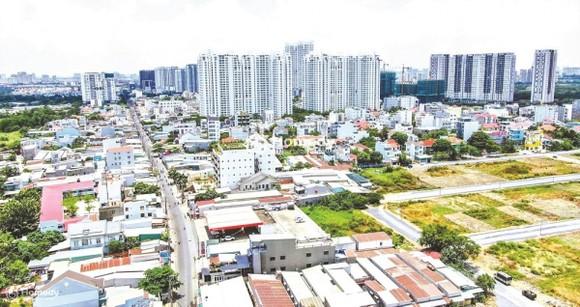 Vay tiền mua nhà để ở luôn là nhu cầu rất lớn của người dân ở TP.HCM. (Ảnh minh họa)