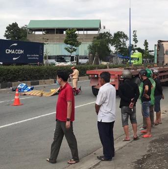 Hiện trường vụ tai nạn khiến 2 người tử vong