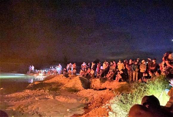 Hiện trường hầm khai thác đất - nơi 2 nữ sinh tử vong. Ảnh: Báo Tây Ninh