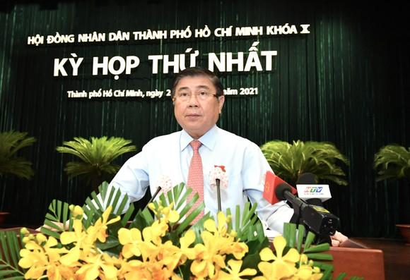 Đại biểu HĐND TPHCM trong kỳ họp thứ nhất khóa X nhiệm kỳ 2021-2026 ảnh 10