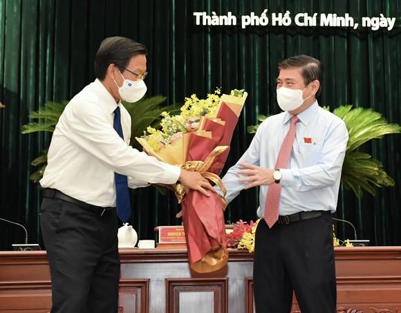 Đại biểu HĐND TPHCM trong kỳ họp thứ nhất khóa X nhiệm kỳ 2021-2026 ảnh 15