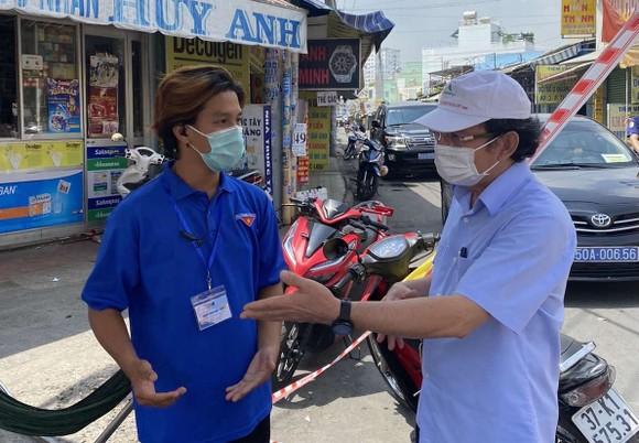 Bí thư Thành ủy TPHCM Nguyễn Văn Nên kiểm tra đột xuất công tác phòng chống dịch tại cơ sở ảnh 4