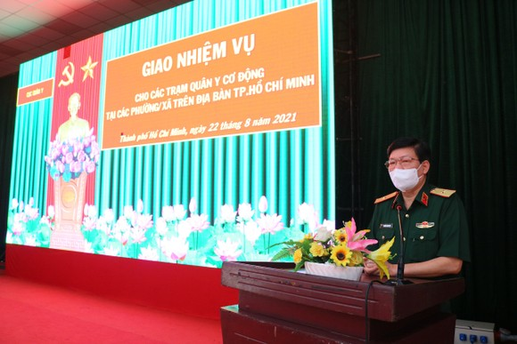 Bộ Tư lệnh TPHCM thành lập 310 tổ công tác xuất quân hỗ trợ cung cấp lương thực cho người dân ảnh 5