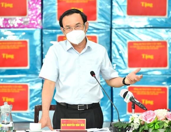 Bí thư Thành ủy TPHCM: Lên các kịch bản phù hợp để TP Thủ Đức sớm trở lại giai đoạn 'bình thường mới' ảnh 2
