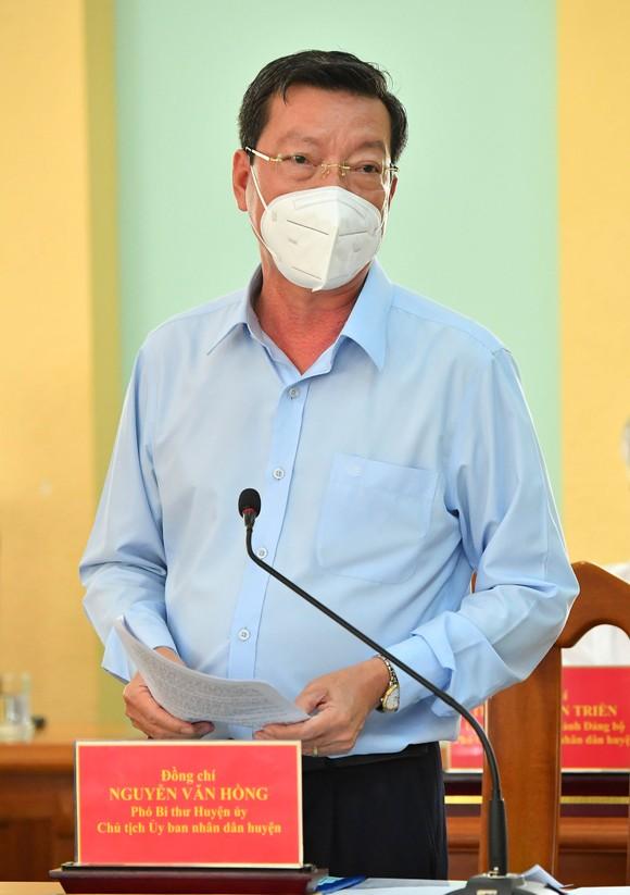 Bí thư Thành ủy TPHCM Nguyễn Văn Nên: Vừa đảm bảo chống dịch, vừa đảm bảo 'sức khỏe' nền kinh tế ảnh 5