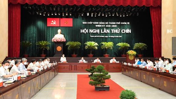 Hội nghị BCH Đảng bộ TPHCM khóa XI lần 9 mở rộng: Bí thư Thành ủy TPHCM Nguyễn Văn Nên gợi mở nhiều vấn đề trọng tâm ảnh 1