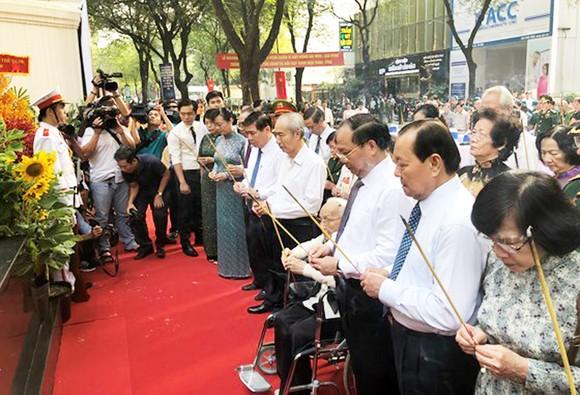 Khánh thành Bia Tưởng niệm chiến sĩ biệt động Sài Gòn hy sinh Tết Mậu Thân 1968 ảnh 1