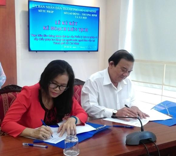 Cấp phiếu lý lịch tư pháp, giấy phép lao động cho người nước ngoài làm việc tại TPHCM trong 17 ngày ảnh 1