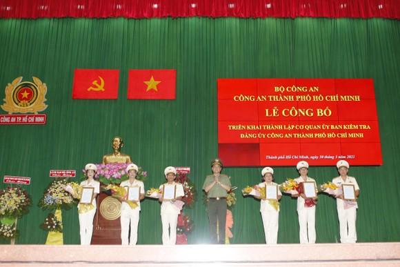 Thành lập Cơ quan Ủy ban Kiểm tra Đảng ủy Công an TPHCM ảnh 1