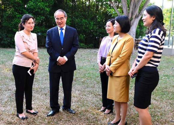 TPHCM tìm kiếm đối tác chiến lược với Singapore về quy hoạch và đào tạo ảnh 2